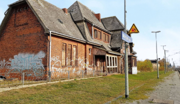 Railway station for sale in Germany